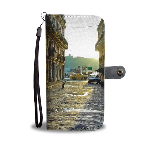 Custom wallet case. Original photography. Enna St. Old Havana.