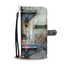Custom wallet case. Original photography. Locks, Havana.