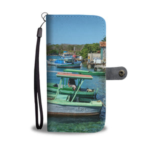Custom wallet case. Original photography. Yisel. Cienfuegos.