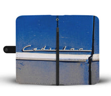 Custom wallet case. Original photography. Cadillac detail. Havana
