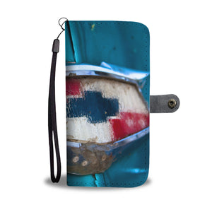 Custom wallet case. Original photography. Chevy, Havana.