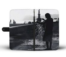 Custom wallet case. Original photography. Tangle. Havana