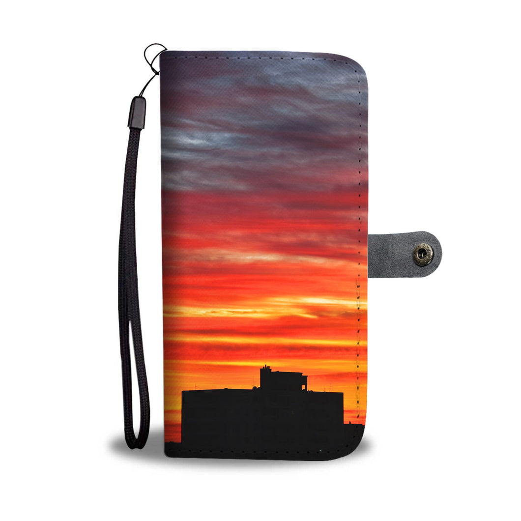 Custom wallet case. Original photography. View. Havana