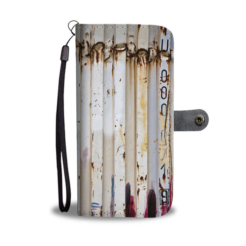 Custom wallet case. Original photography. Container. Havana