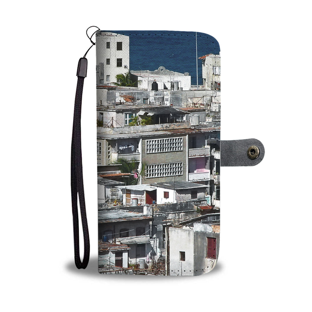 Custom wallet case. Original photography. Vedado Neighborhood, Havana