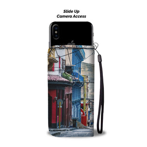 Custom wallet case. Original photography. Street, day. Santiago de Cuba