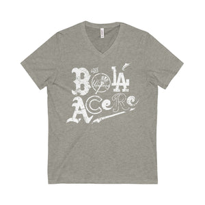 Unisex Jersey Short Sleeve V-Neck Tee. Que bola acere. Cuban presence on mlb.