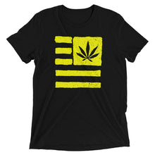 Short sleeve t-shirt. United state of Cannabica.
