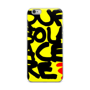 Que bola acere. iPhone Case