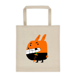 Tote bag. Original art. Indecent Animals.