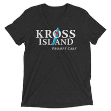 Short sleeve t-shirt. Kross Island Prompt Care.