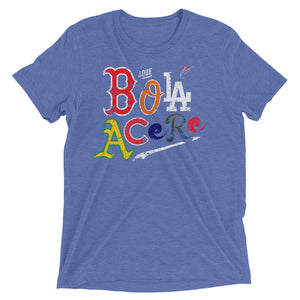 Short sleeve t-shirt. Original print. Cuban presence on MLB.