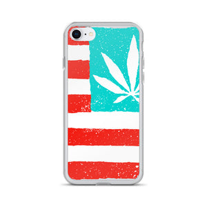 United State of Cannabica. iPhone Case