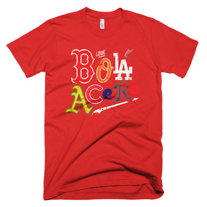 Short-Sleeve T-Shirt. Que Bola Acere. Cuban Presence on MLB.