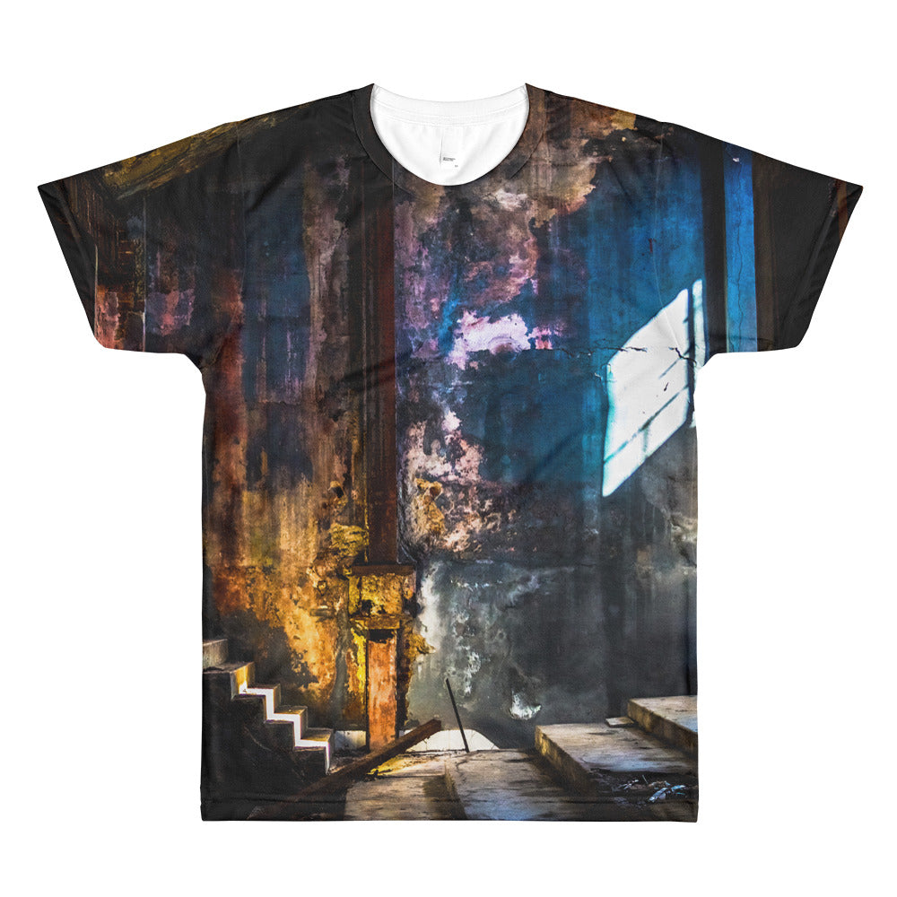 All-Over Printed T-Shirt. Havana Interior.