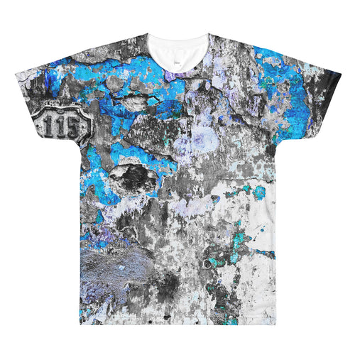 All-Over Printed T-Shirt. Havana wall (just blue).
