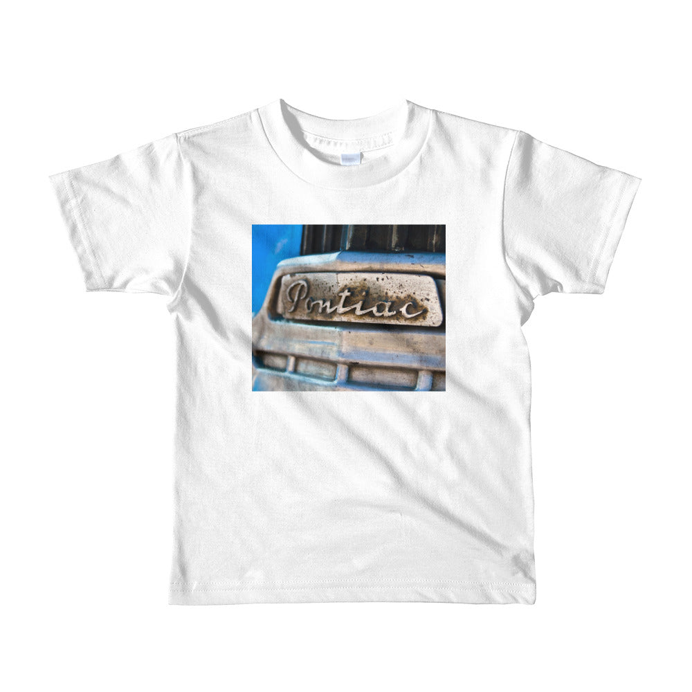 Pontiac. Short sleeve kids t-shirt