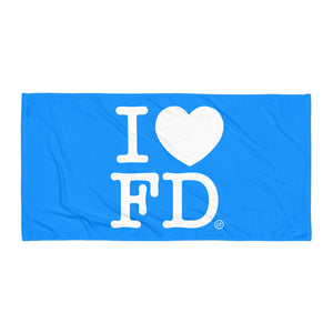 I Love FD Towel