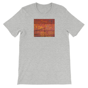 Metal door, Havana. Short-Sleeve Unisex T-Shirt
