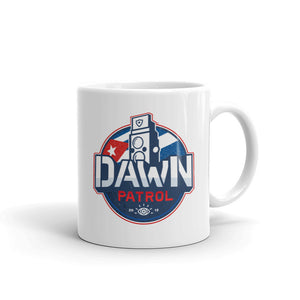 Dawn Patrol. (The Flag). White Glossy MugMug