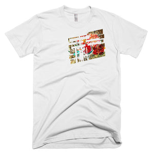 Snowman & Flower. Short-Sleeve T-Shirt