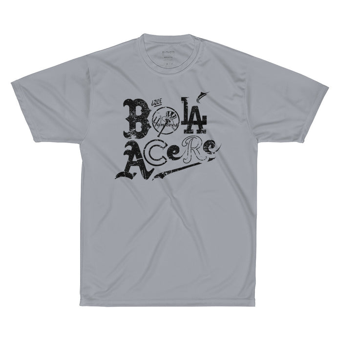 Performance T-Shirt. Que bola acere. Cuban presence on MLB.