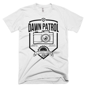 Dawn Patrol. Photographic workshops. (The Shield) Short-Sleeve T-Shirt