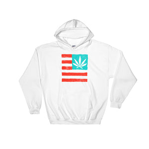 United State of Cannabica. Hooded Sweatshirt