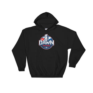 Dawn Patrol. Photographic workshops. (The Flag) Hooded Sweatshirt