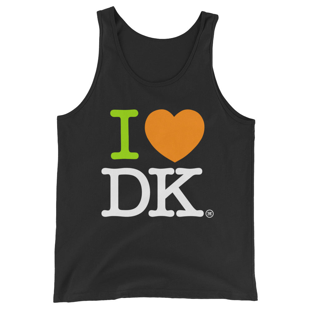 Unisex  Tank Top. I Love DraftKings.