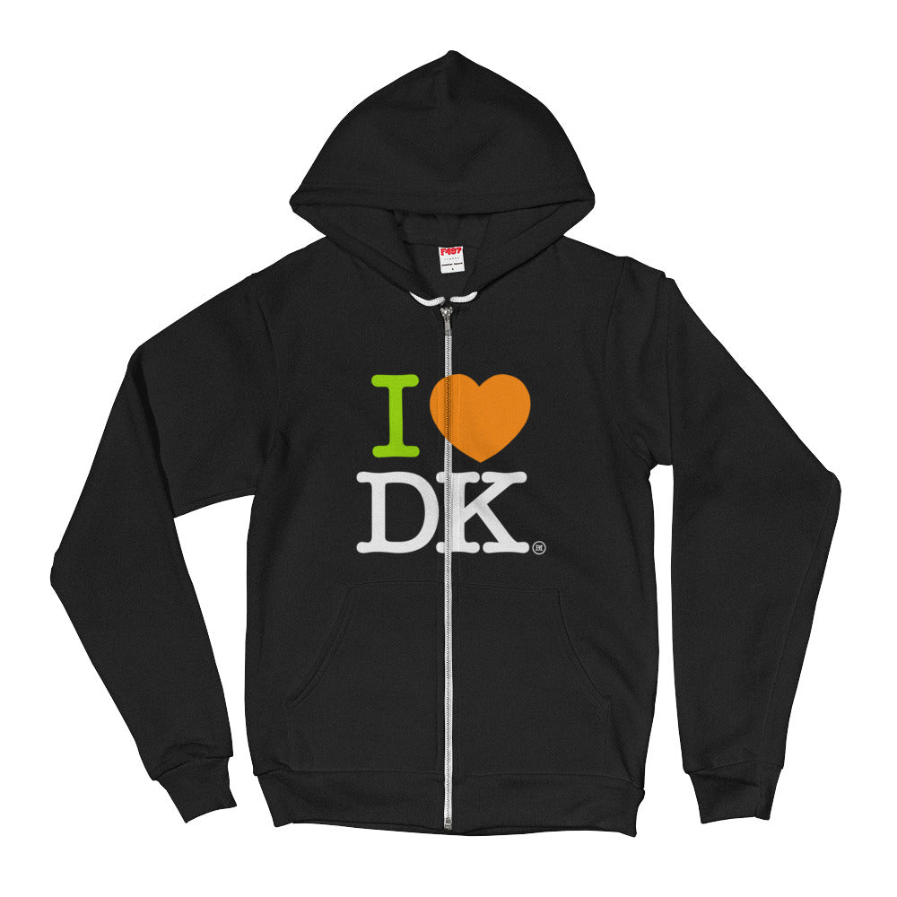 Hoodie sweater. I Love DraftKings.