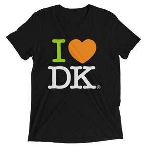 Short sleeve t-shirt. ILoveDK. (Outside labeled)