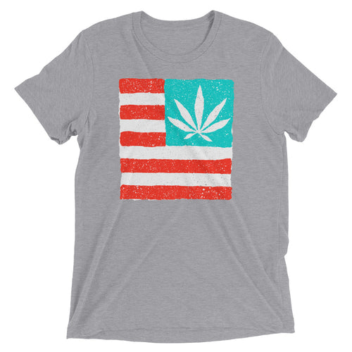 United State of Cannabica. Short sleeve t-shirt