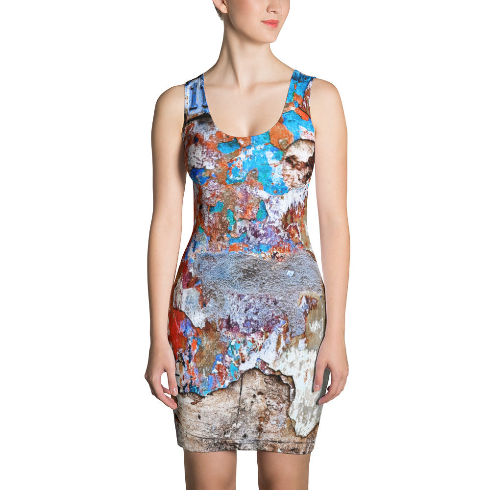 Sublimation Cut & Sew Dress. Havana wall. New print.