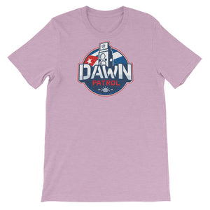 Dawn Patrol. Photographic workshops. (The Flag) Short-Sleeve Unisex T-Shirt