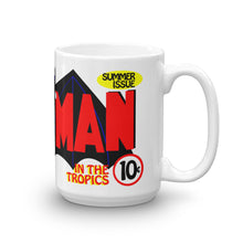 The bat in the tropics. White Glossy Mug