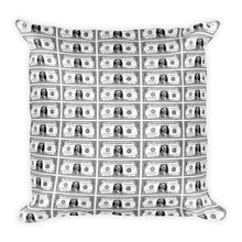 Square Pillow. Dollars