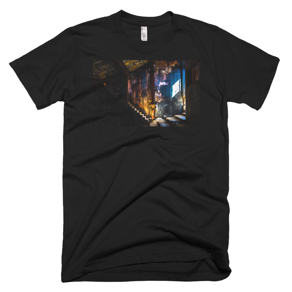 Havana Postcards, Interior. Short-Sleeve T-Shirt