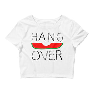 Hangover. Women's Crop Tee
