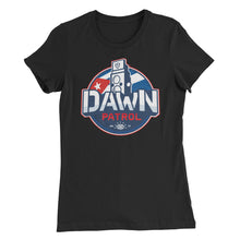 Women's Slim Fit T-Shirt. Dawn Patrol. Photographic workshops, Cuba. The Flag.