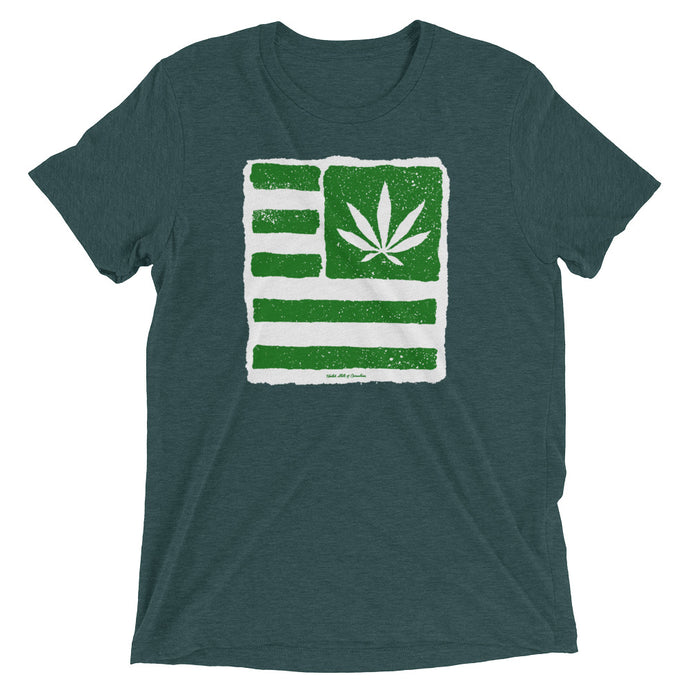 Short sleeve t-shirt. United State of Cannabica. New print.