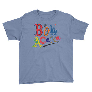Youth Short Sleeve T-Shirt. Que bola acere. Cuban presence on MLB. New print.