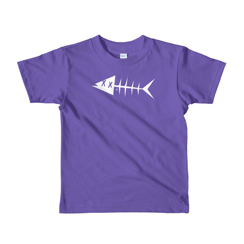 White fish. Short sleeve kids t-shirt
