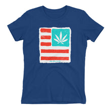 Women's t-shirt. United State of Cannabica. New print.