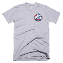 Dawn Patrol. Photographic workshops. (The Flag) Short-Sleeve T-Shirt