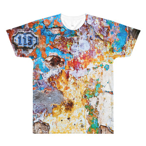All-Over Printed T-Shirt. Havana wall.