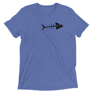 Black fish. Short sleeve t-shirt