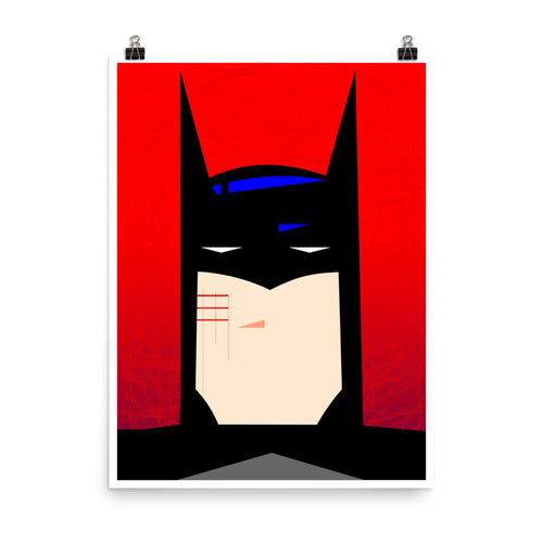 Wall decor. Forbidden posters. Cut Bat. 18 x 24 inches