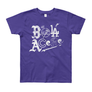 Youth Short Sleeve T-Shirt. Que bola acere. Cuban Presence on MLB. New print