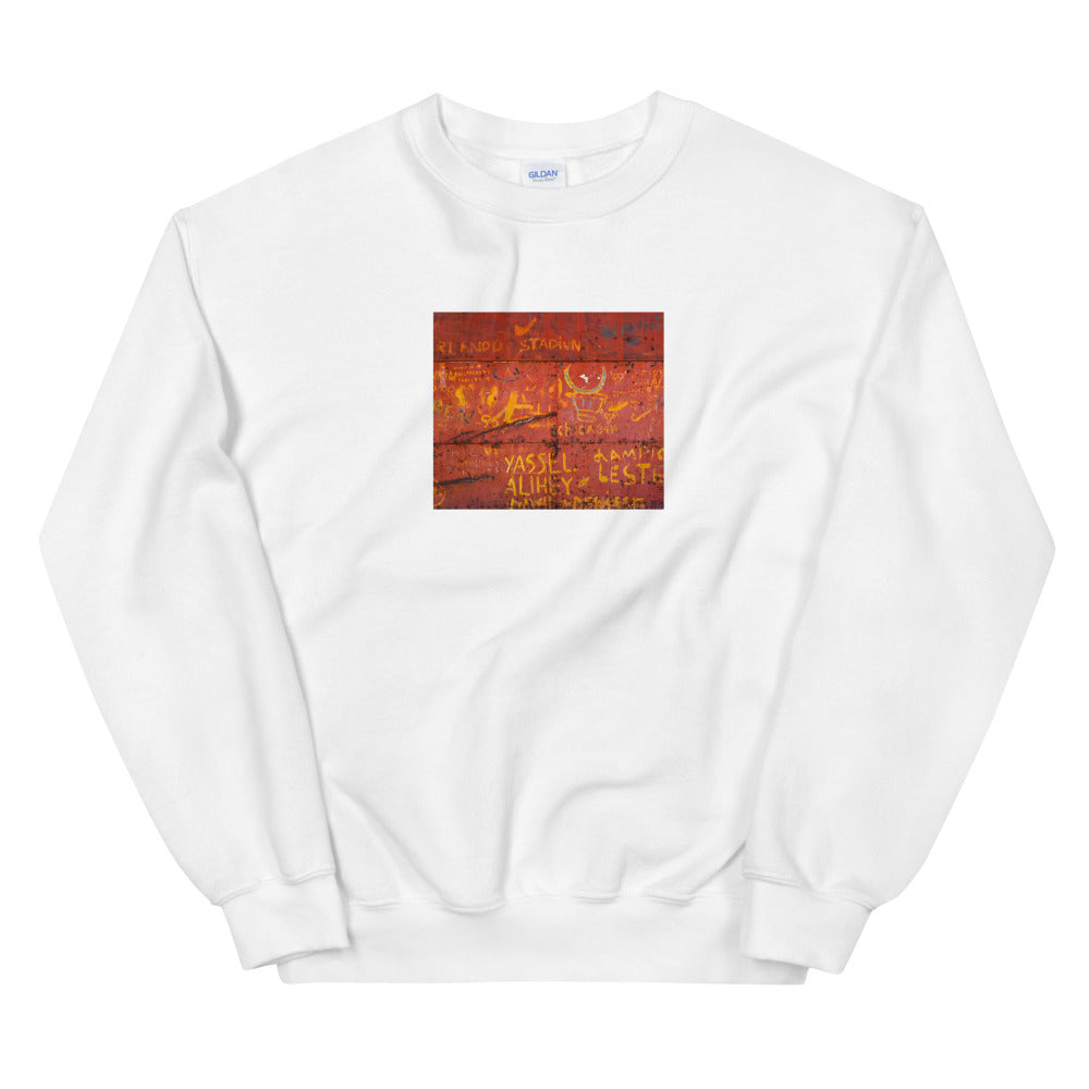Metal door, Havana. Sweatshirt